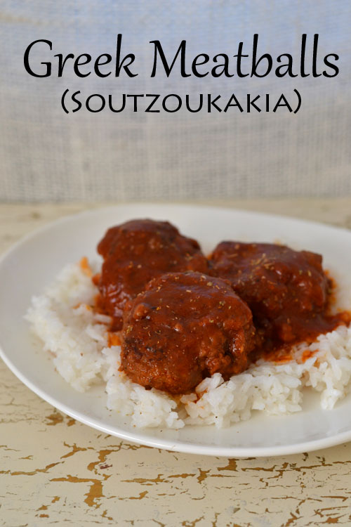 Greek Meatballs (Soutzoukakia)