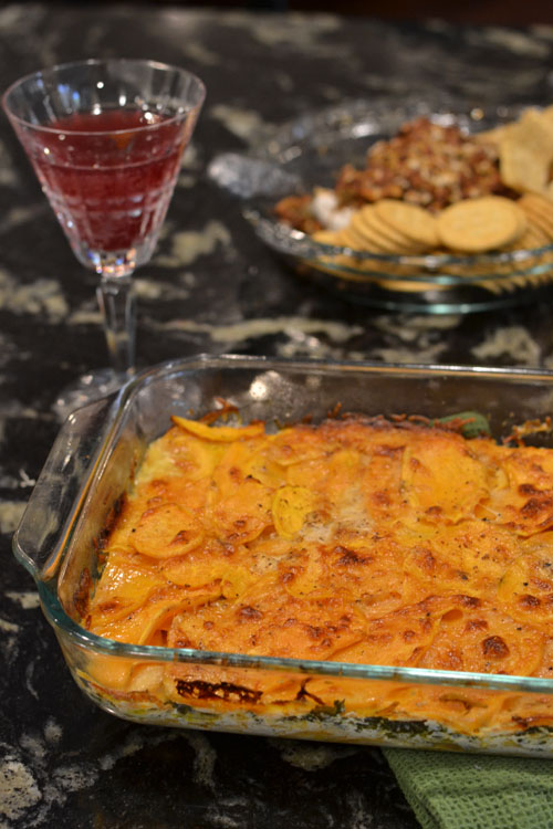 Sweet Potato and Kale Casserole -
