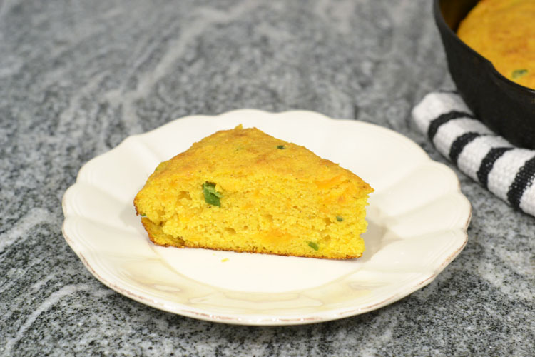 Sweet Potato Jalapeno Cornbread - Supper for a Steal