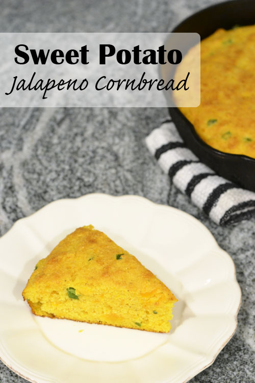 Sweet Potato Jalapeno Cornbread