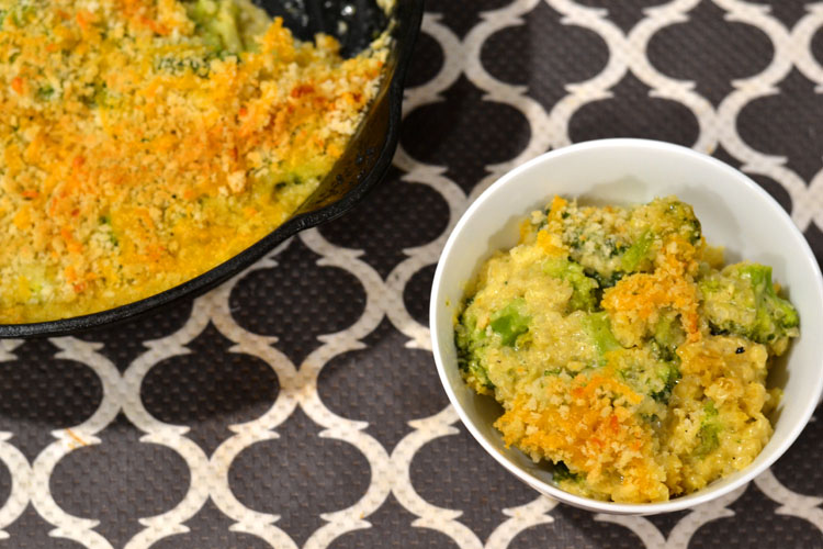 Broccoli Quinoa Mac and Cheese