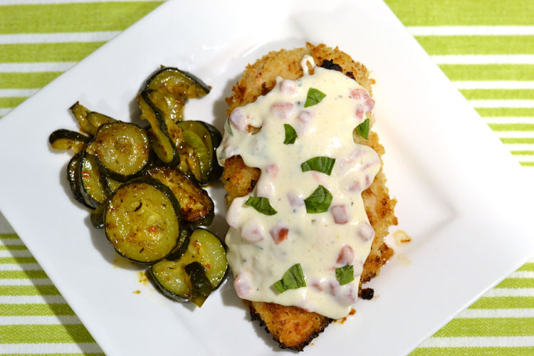 Oven Chicken with Pimento Cream Sauce - Supper for a Steal
