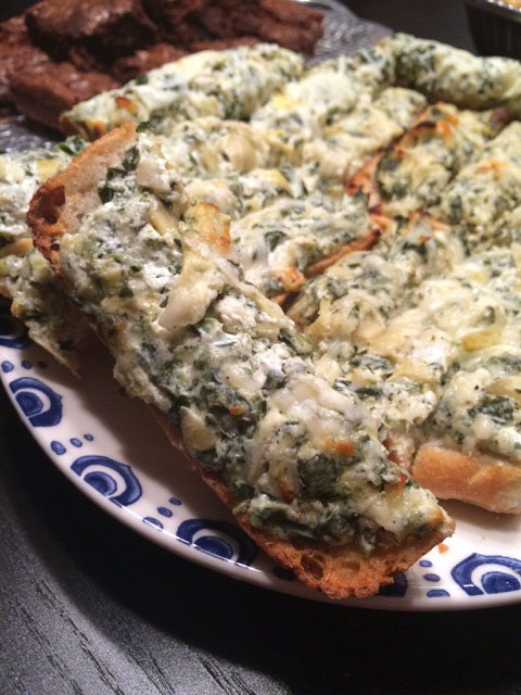 Spinach Artichoke Bread - Supper for a Steal