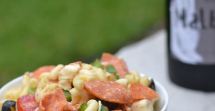 Pizza Pasta Salad - Supper for a Steal